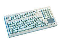 CHERRY Lt grey 16 USB kbd w/ TP  US 104 layou G80-11900LUMEU-0