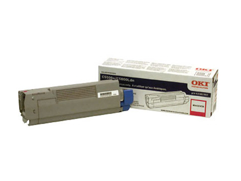OKIDATA C5500n/C5800Ldn Yellow Toner Cartridge ( 43381901