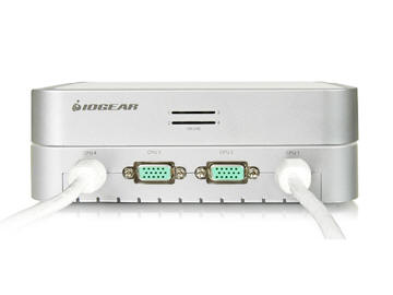 IOGEAR GCS634U MiniView 4-Port USB KVM Switch