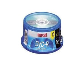 MAXELL DVD-R 4.7GB 4X 15pc Spindle 638006