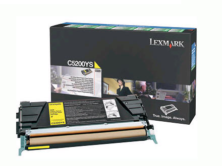LEXMARK C520/C530dn Yellow Return Toner(1.5K) C5200YS