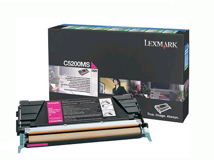 LEXMARK C520/C530 Magenta Return Toner(1.5K) C5200MS