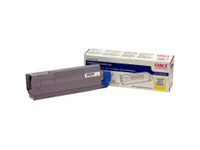 OKIDATA C5500n/C5800Ldn Yellow Toner Cartridge ( 43324401