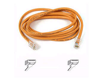BELKIN COMPONENTS 25Ft 10/100BT CAT5 Patch A3L791-25-ORG