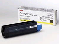 OKIDATA C5000 Series Yellow Toner Cartidge 42127401