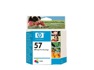 HEWLETT PACKARD HP 57 tricolor inkjet cartridge NAM. C6657AN
