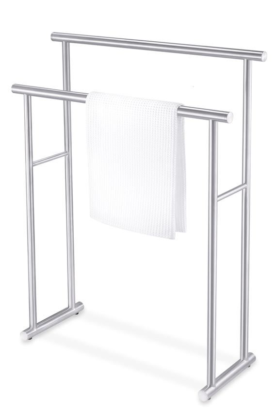 Zack 40245 FINIO towel rack- Stainless Steal