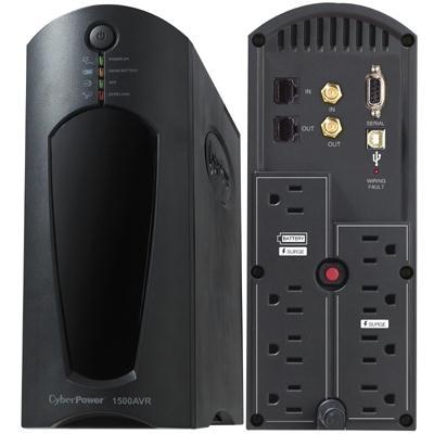Cyberpower 1200VA 720W UPS w AVR CP1200AVR