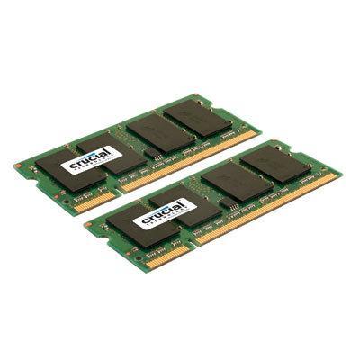 Crucial Technology 2GB 667MHZ DDR2 SODIMM CT2KIT12864AC667
