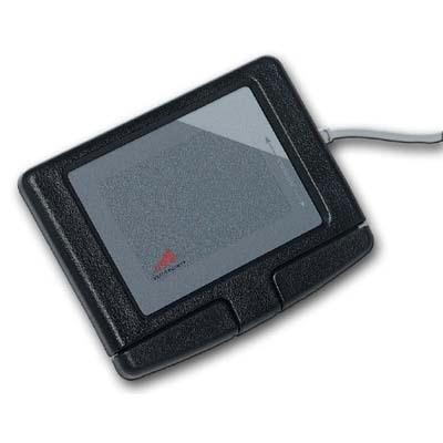 Image of Adesso Inc. EasyCat 2Btn Touchpad BLK USB GP-160UB