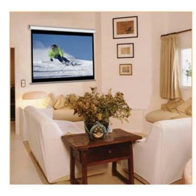 Elitescreens 70 x 70 Inch Manual Pull down Screen M99NWS1