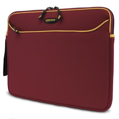 Mobile Edge Red/Gold Neoprene Sleeve-14.1 Inch MESS7G-14