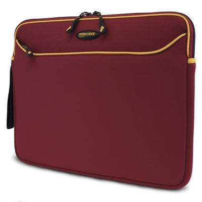 Mobile Edge Red/Gold Neoprene Sleeve-15.4 Inch MESS7G-15
