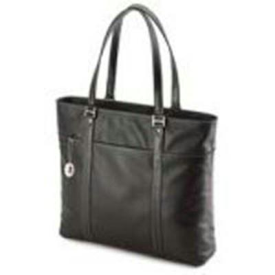 Mobile Edge Leather Tech Tote Black METL01