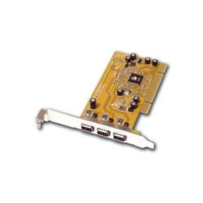 Siig 3 Port Firewire adapter card NN-400012-S8