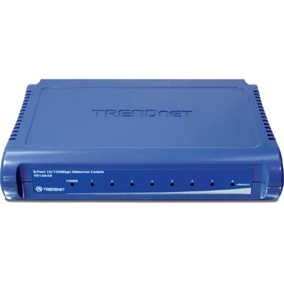 Trendnet 8-Port 10/100 Mini Switch TE100-S8