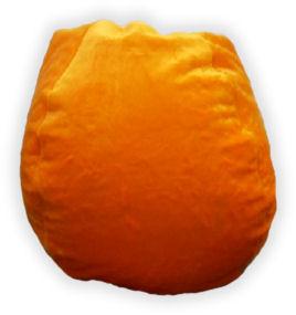 Bean Bag Boys Bean Bag Orange Plush BB-35-PLUSH-ORANGE