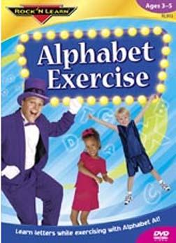 ROCK N LEARN RL-913 ALPHABET EXERCISE DVD