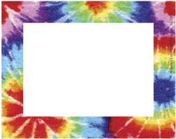 BARKER CREEK & LASTING LESSONS LAS1503 REMEMBER ME NAME TAGS TIE DYE