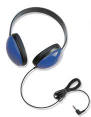 CALIFONE INTERNATIONAL CAF2800BL LISTENING FIRST STEREO HEADPHONES B LUE