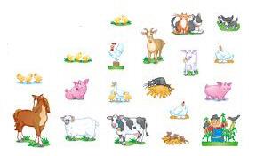 NORTH STAR TEACHER RESOURCE NST3203 BB ACCENTS FARM ANIMALS