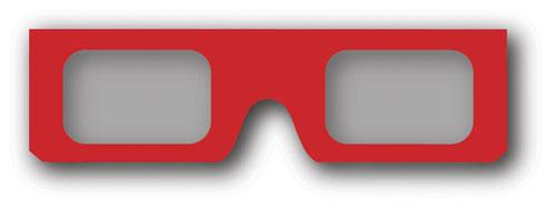 GALLOPADE GAL63069 ADDITIONAL 3D GLASSES 2 PACK EDRE10676