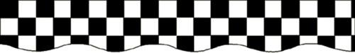 EDUPRESS EP-641 BORDER BLACK & WHITE CHECKS