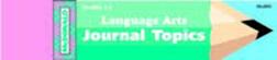 MCDONALD PUBLISHING MC-J805 JOURNAL BOOKLET LANGUAGE ARTS 1-3 EDRE16742