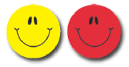 CARSON DELLOSA CD-5270 SMILEY FACES MULTICOLOR