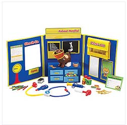 LEARNING RESOURCES LER2660 PRETEND & PLAY ANIMAL HOSPITAL EDRE21660