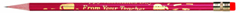 J.R. MOON PENCIL CO. JRM7902B PENCILS HAPPY VALENTINES FROM PENCILS HAPPY VALENTINES FROM