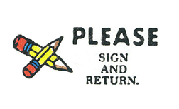 STAMP PLEASE SIGN AND RETURN