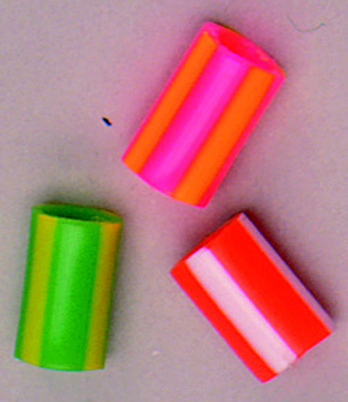 HYGLOSS PRODUCTS INC. HYG6828 STRIPED STRAW BEADS