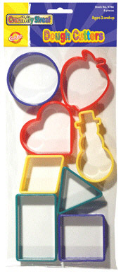 CHENILLE KRAFT COMPANY CK-9765 DOUGH CUTTERS - SHAPES EDRE8901