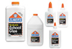 ELMERS - BORDEN BORE308 ELMERS SCHOOL GLUE 8 OZ. BOTTLE EDRE8989