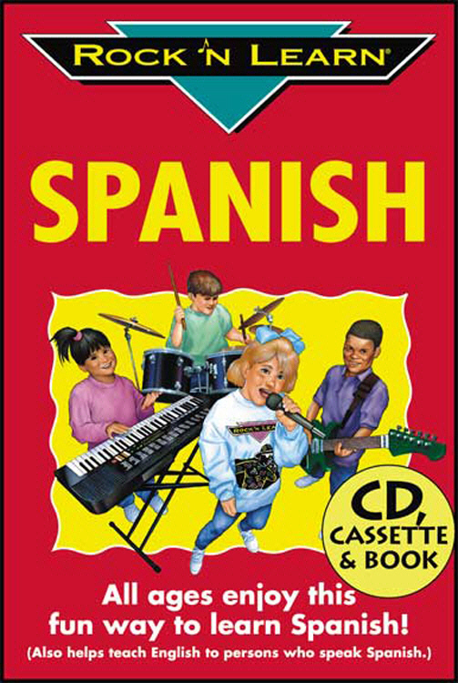 ROCK N LEARN RL-919 SPANISH VOL. 1 CD+BOOK
