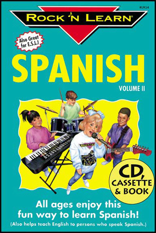 ROCK N LEARN RL-934 SPANISH VOLUME II CD + BOOK