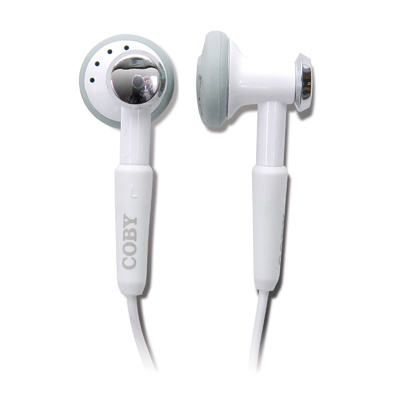 Coby CVM809 2 IN 1 DIGITAL STEREO EARPHONES with HANDS-FREE KIT
