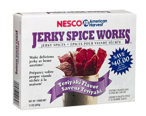 Nesco BJT-6 Jerky Spice Works 6 pack  Teriyaki Flavor