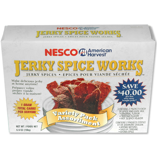 Nesco BJV-6 Jerky Spice Works 6 pk  2 ea. Orig./Hot & Spicy/Teriyaki
