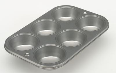 Range Kleen B13M6 B13M6 6 Cup Cupcake/Muffin Pan RKN234