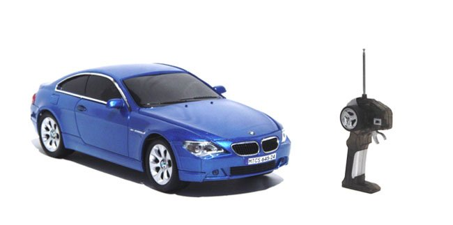 World Racing Nitro 645-24 blue BMW M6 Official Licensed Remote Control Car