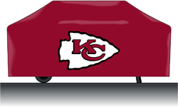 Kansas City Chiefs Deluxe Grill Cover (Red)