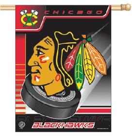 Chicago Blackhawks Banner 27x37