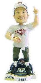 Tampa Bay Buccaneers John Lynch Super Bowl Champ Cap Forever Collectibles Bobblehead