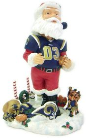 St. Louis Rams Santa Claus Forever Collectibles