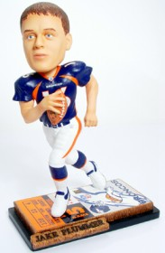 Denver Broncos Jake Plummer Ticket Base Forever Collectibles Bobblehead