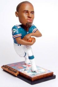 Miami Dolphins Ricky Williams Ticket Base Forever Collectibles Bobblehead