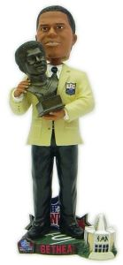 Oilers Elvin Bethea 2003 Hall of Fame Bust Forever Collectibles Bobblehead