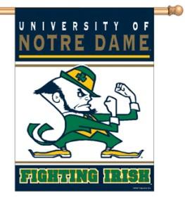 Notre Dame Fighting Irish Banner 27x37 CASY192